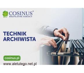 ARCHIWISTA w Szkole Cosinus we Włocławku. Zapisz się jeszcze dzisiaj!